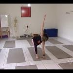 Adriana participando do programa Corpo em Ação